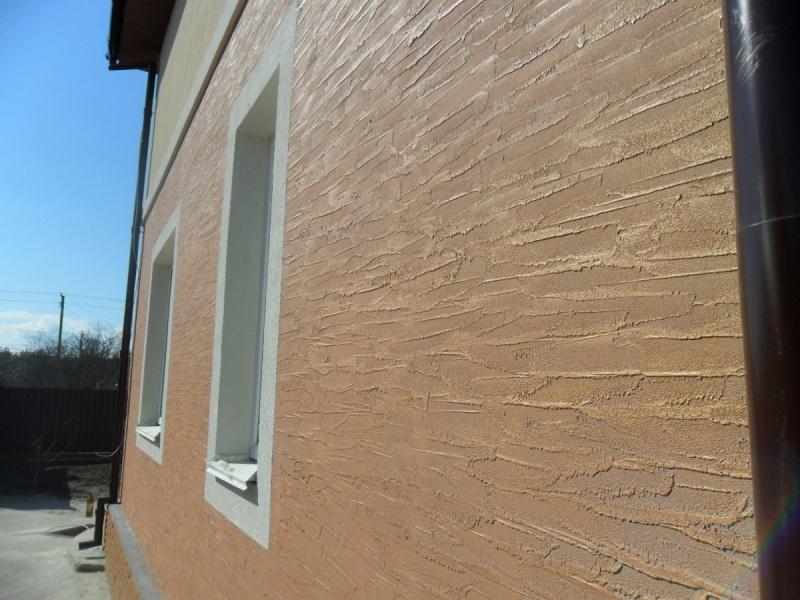 Штукатурка фасада на утеплитель видео